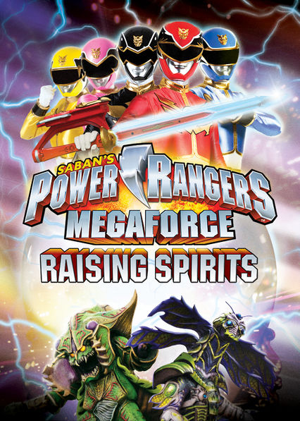 Power Rangers: Megaforce: Raising Spirits on Netflix UK