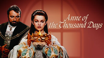Anne of the Thousand Days on Netflix UK