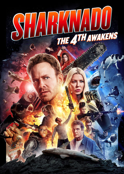 Sharknado: The 4th Awakens on Netflix UK