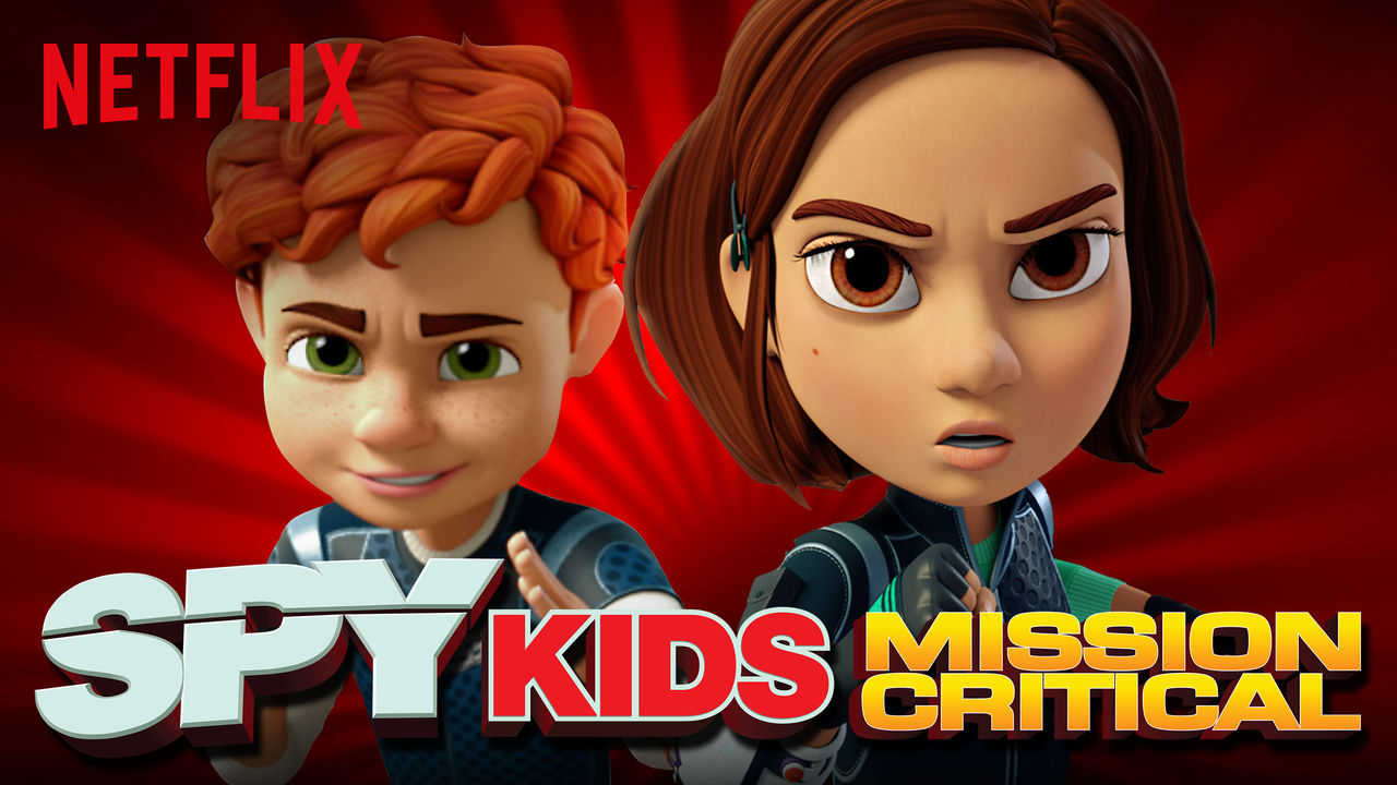 Spy Kids: Mission Critical on Netflix UK