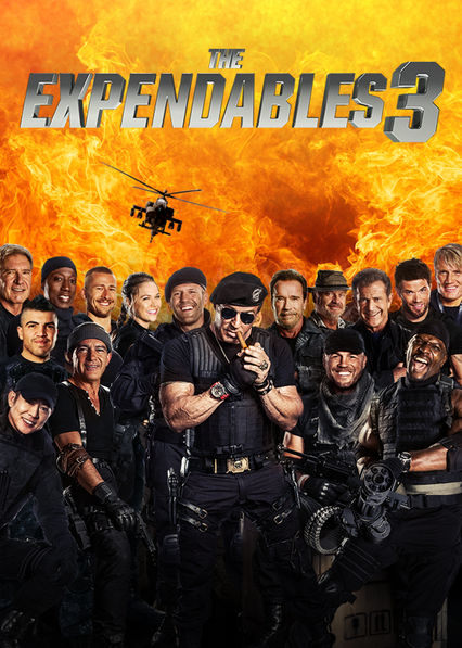 The Expendables 3 on Netflix UK