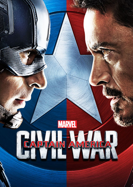 Captain America: Civil War on Netflix UK