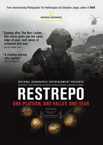 Restrepo on Netflix UK