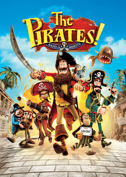 The Pirates! Band of Misfits on Netflix UK