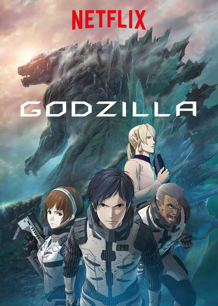 Godzilla on Netflix UK