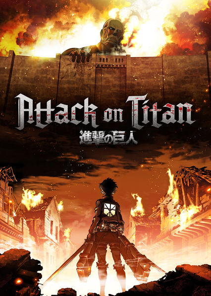Attack on Titan on Netflix UK