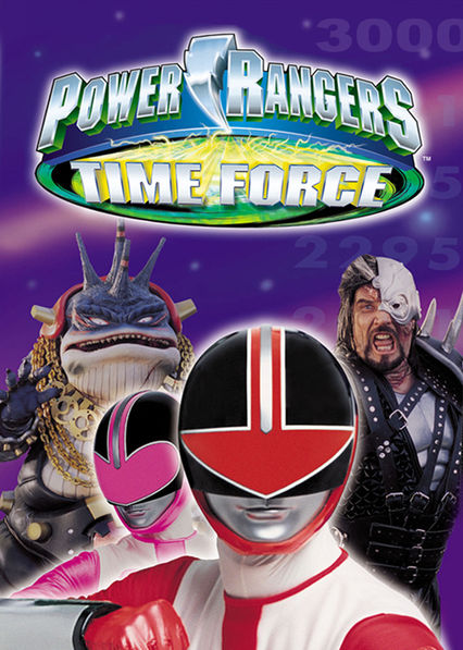 Power Rangers Time Force on Netflix UK