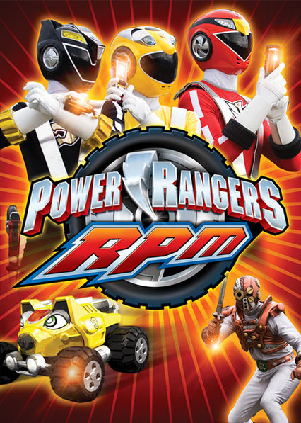 Power Rangers RPM on Netflix UK