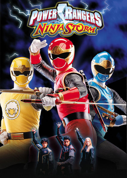Power Rangers Ninja Storm on Netflix UK