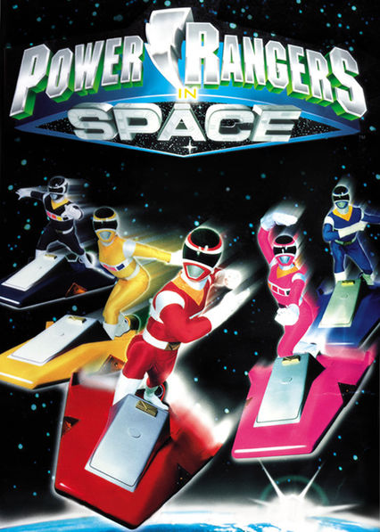 Power Rangers in Space on Netflix UK