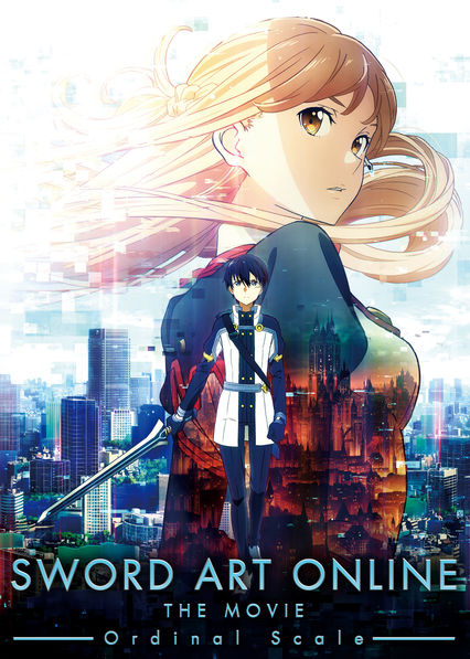 Sword Art Online the Movie: Ordinal Scale on Netflix UK