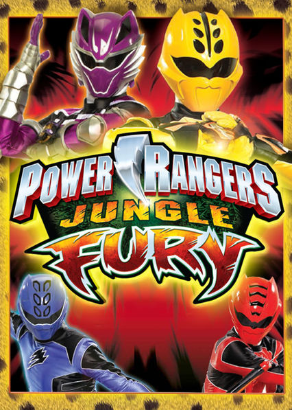 Power Rangers Jungle Fury on Netflix UK