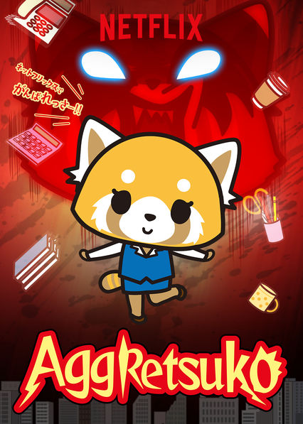 Aggretsuko on Netflix UK