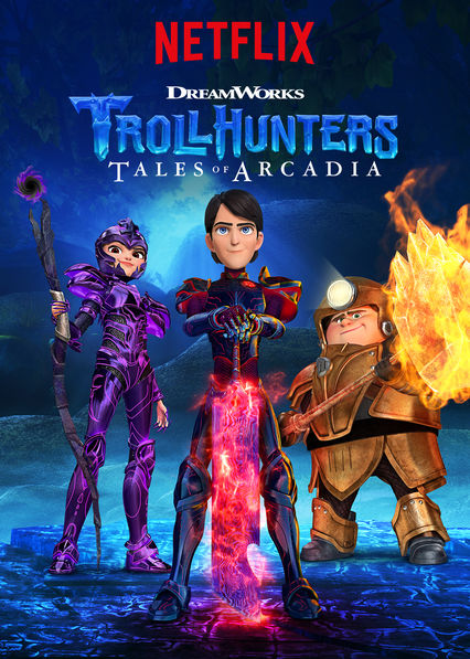 Trollhunters: Tales of Arcadia on Netflix UK