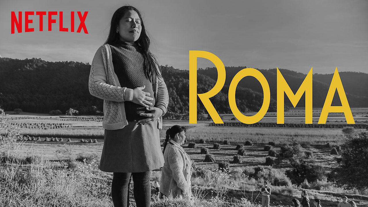 ROMA on Netflix UK