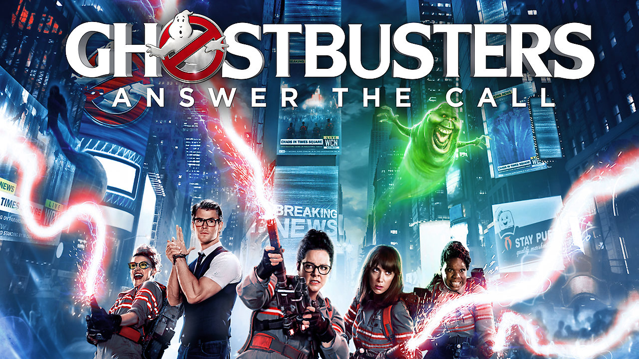 Is 'Ghostbusters' (2016) available to watch on UK Netflix