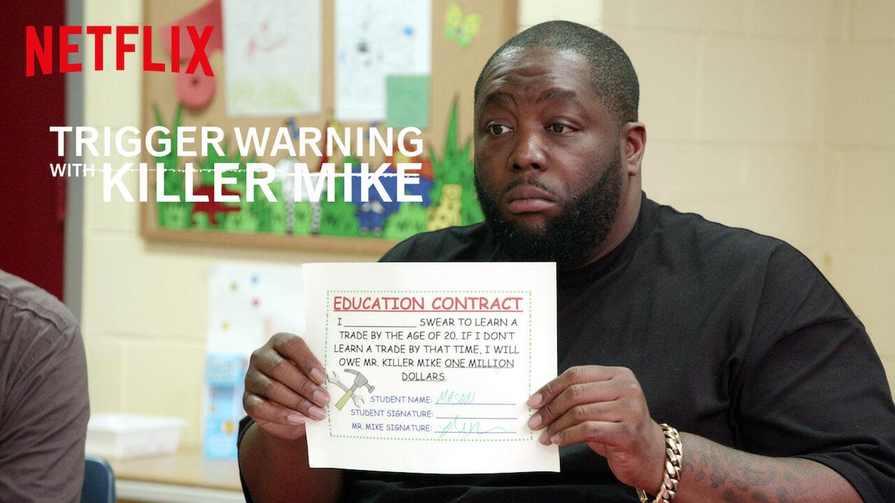 Trigger Warning with Killer Mike on Netflix UK
