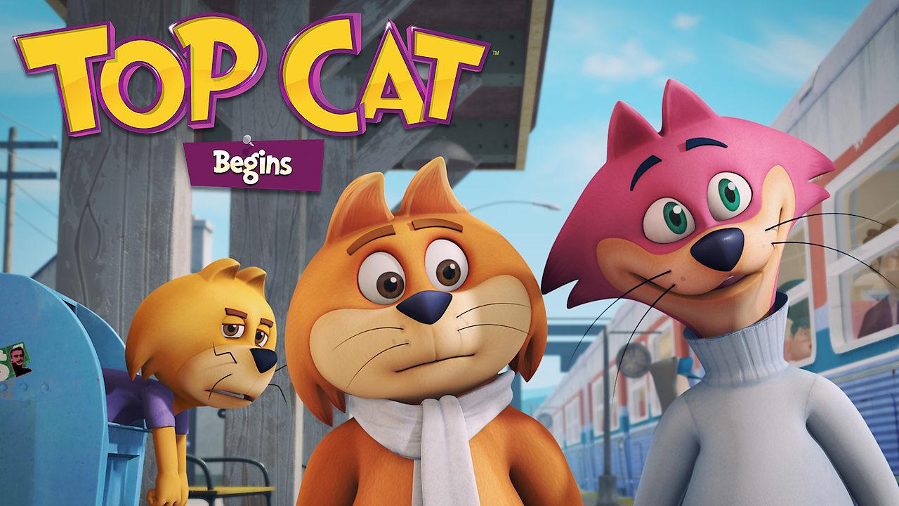 Top Cat Begins on Netflix UK