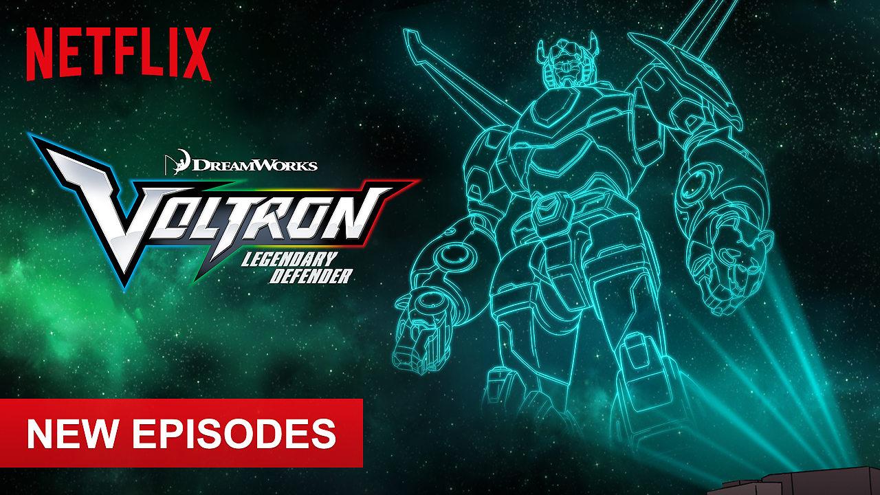 Voltron: Legendary Defender on Netflix UK