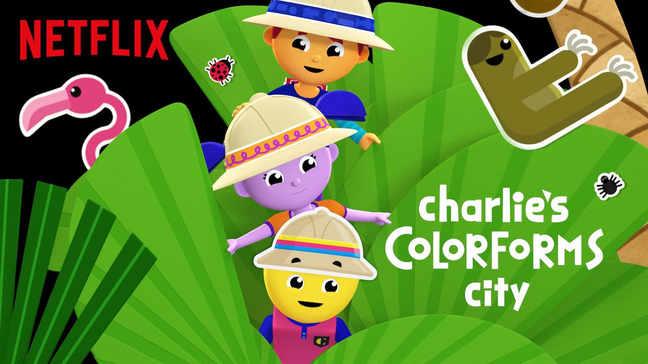 Charlie's Colorforms City on Netflix UK