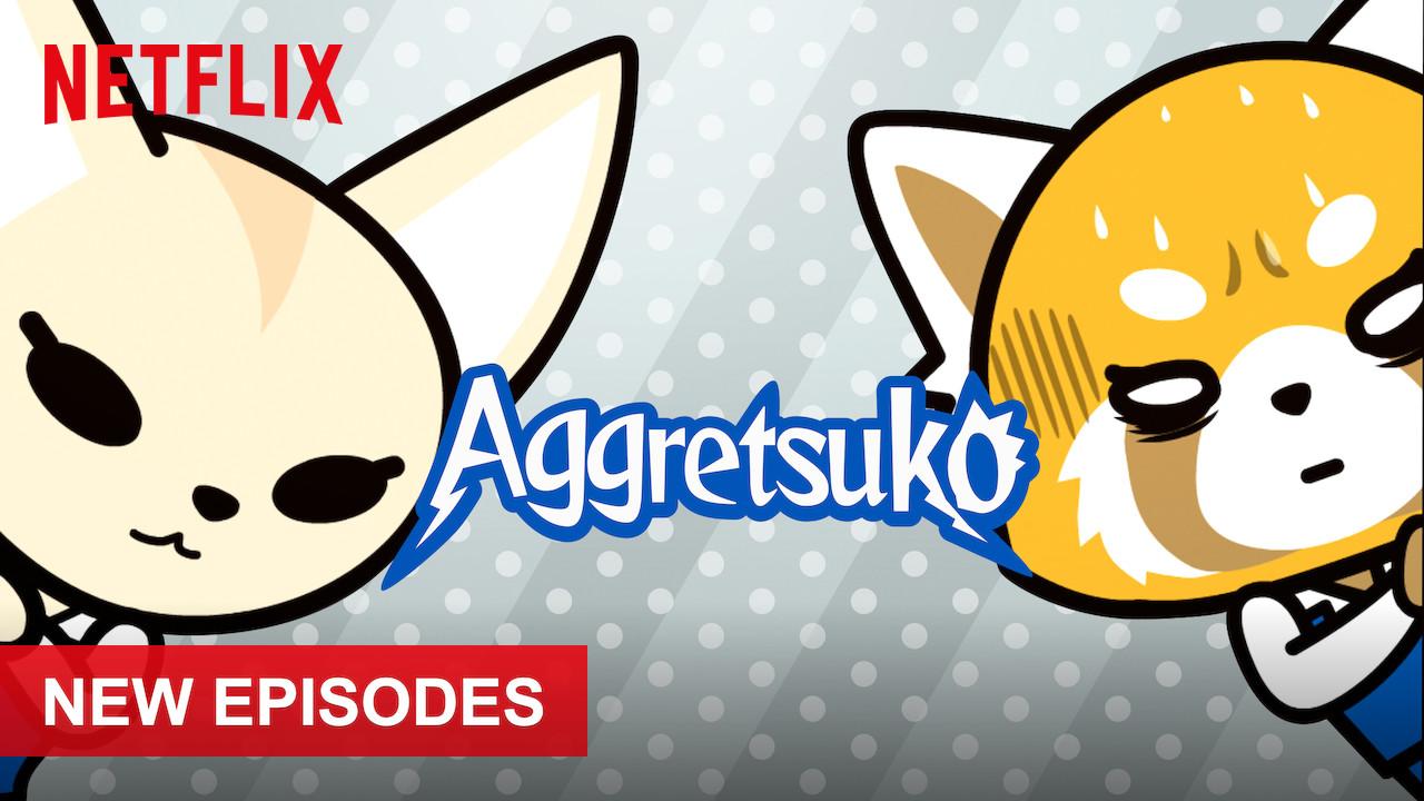 Aggretsuko on Netflix UK
