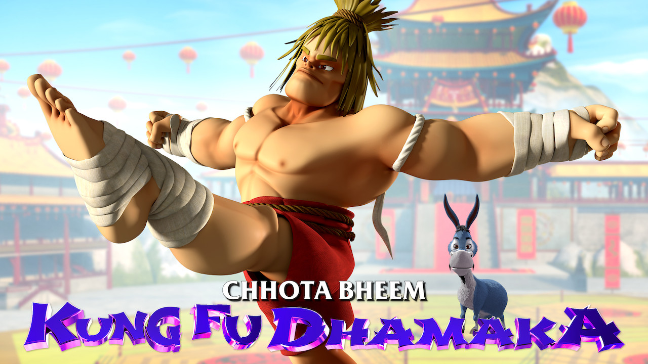 Chhota Bheem Kungfu Dhamaka on Netflix UK