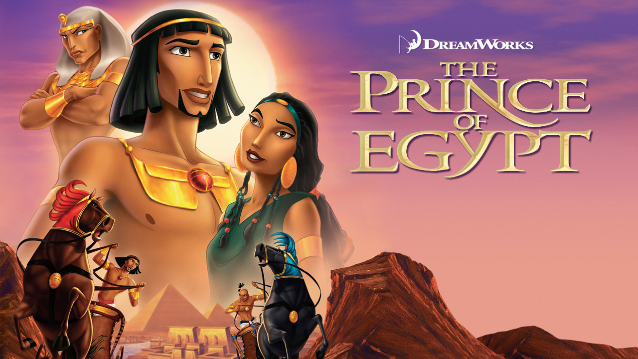 The Prince of Egypt on Netflix UK
