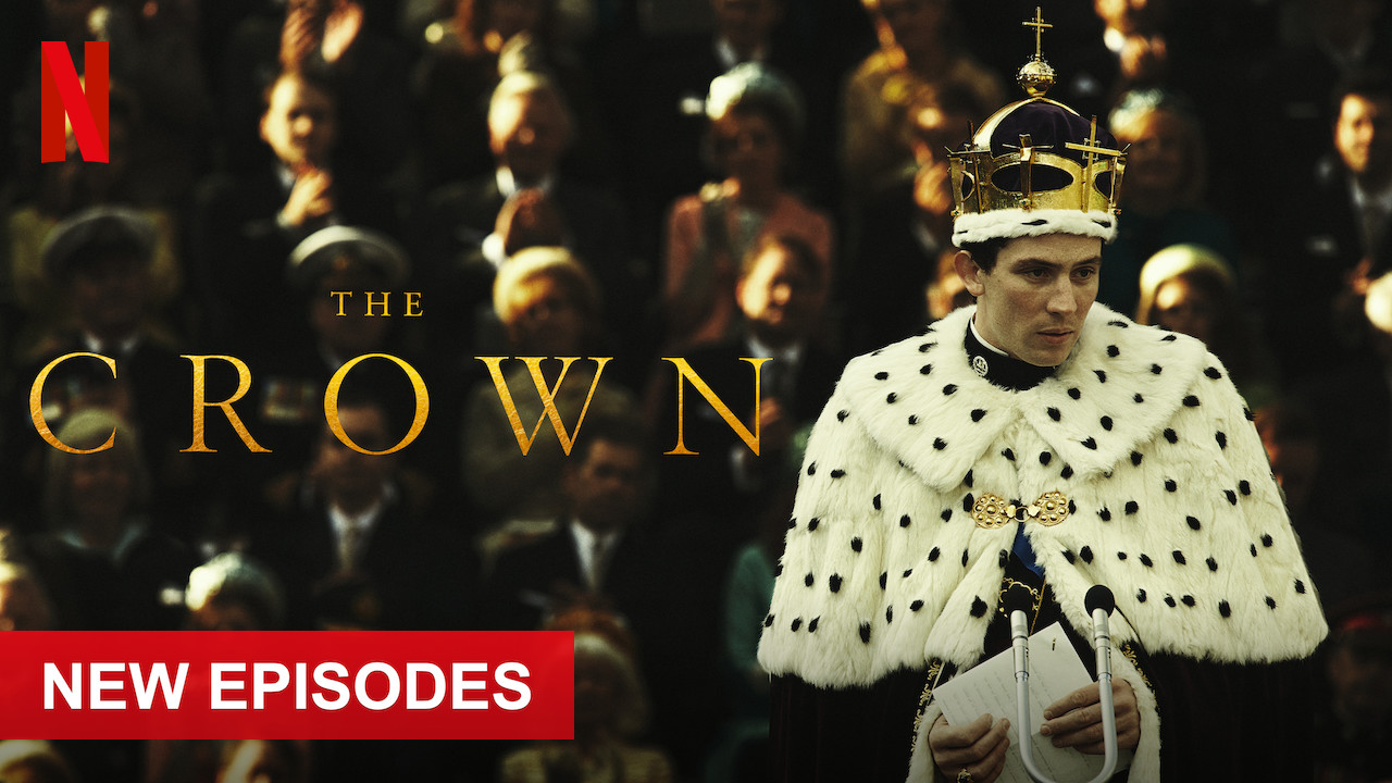 The Crown on Netflix UK