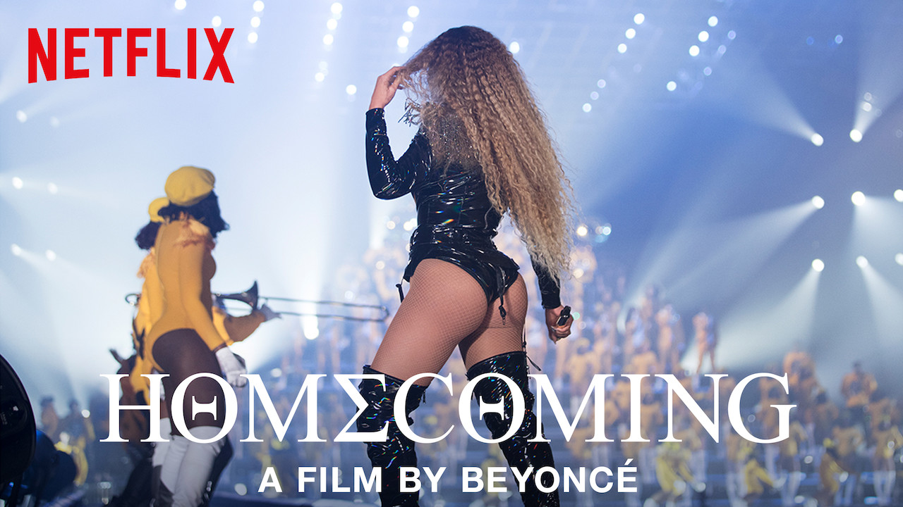 HOMECOMING: A film by Beyoncé on Netflix UK