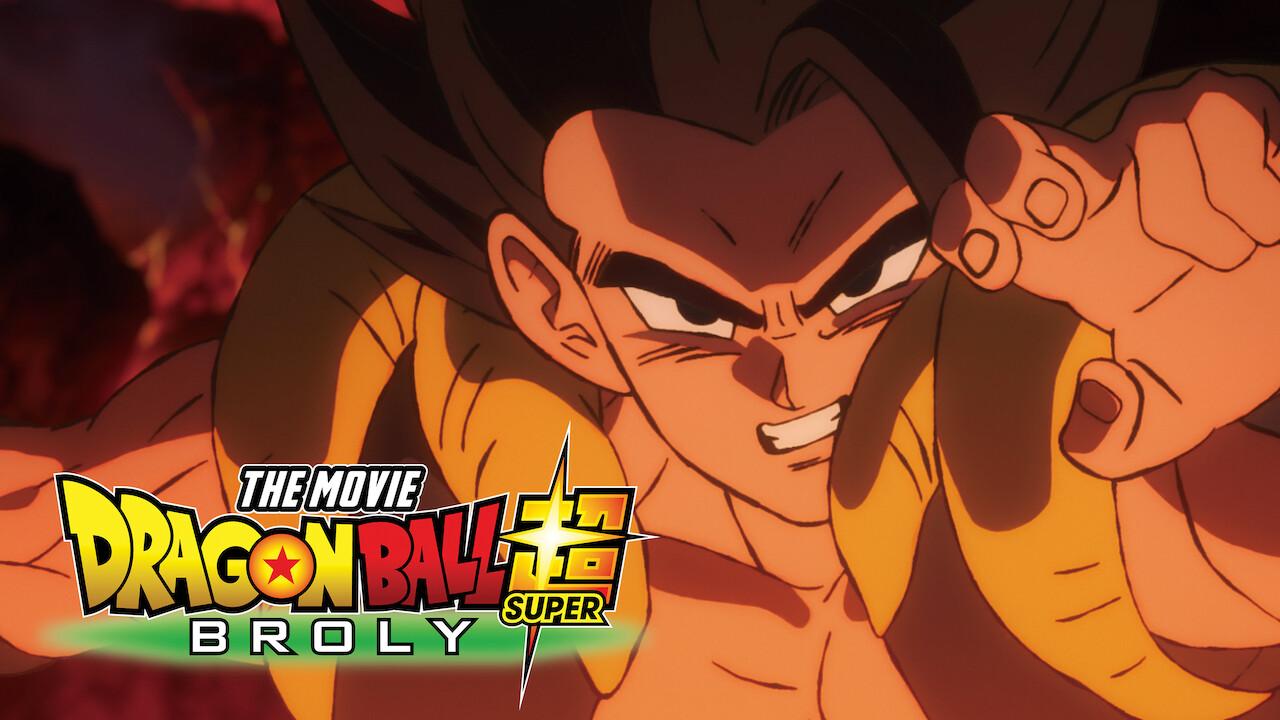 Dragon Ball Super: Broly on Netflix UK
