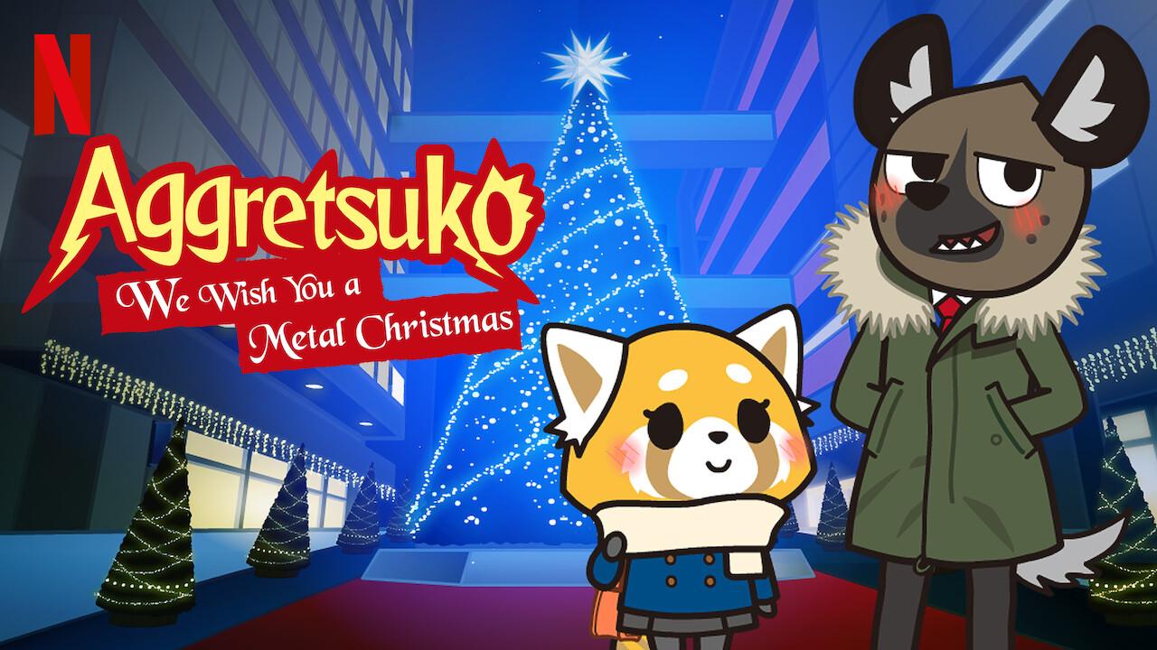 Aggretsuko Christmas.Is Aggretsuko We Wish You A Metal Christmas 2018