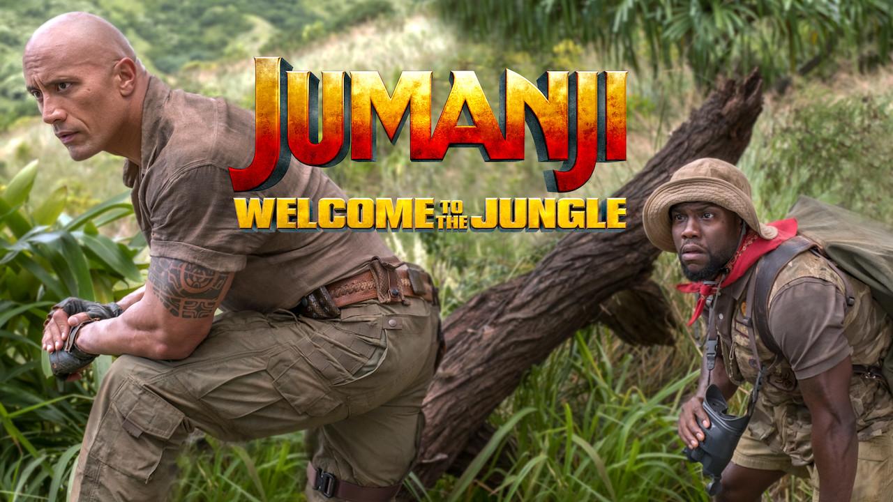 Jumanji: Welcome to the Jungle on Netflix UK