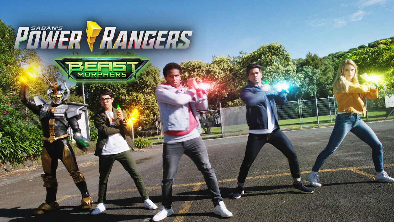 Power Rangers Beast Morphers on Netflix UK