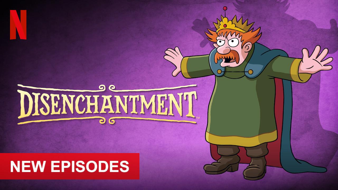Disenchantment on Netflix UK