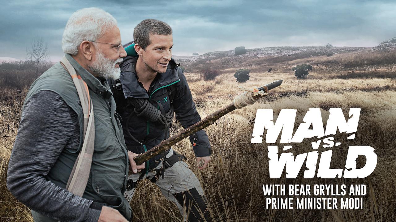 Man vs. Wild with Bear Grylls and PM Modi on Netflix UK