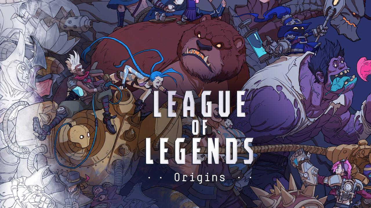 League of Legends Origins on Netflix UK