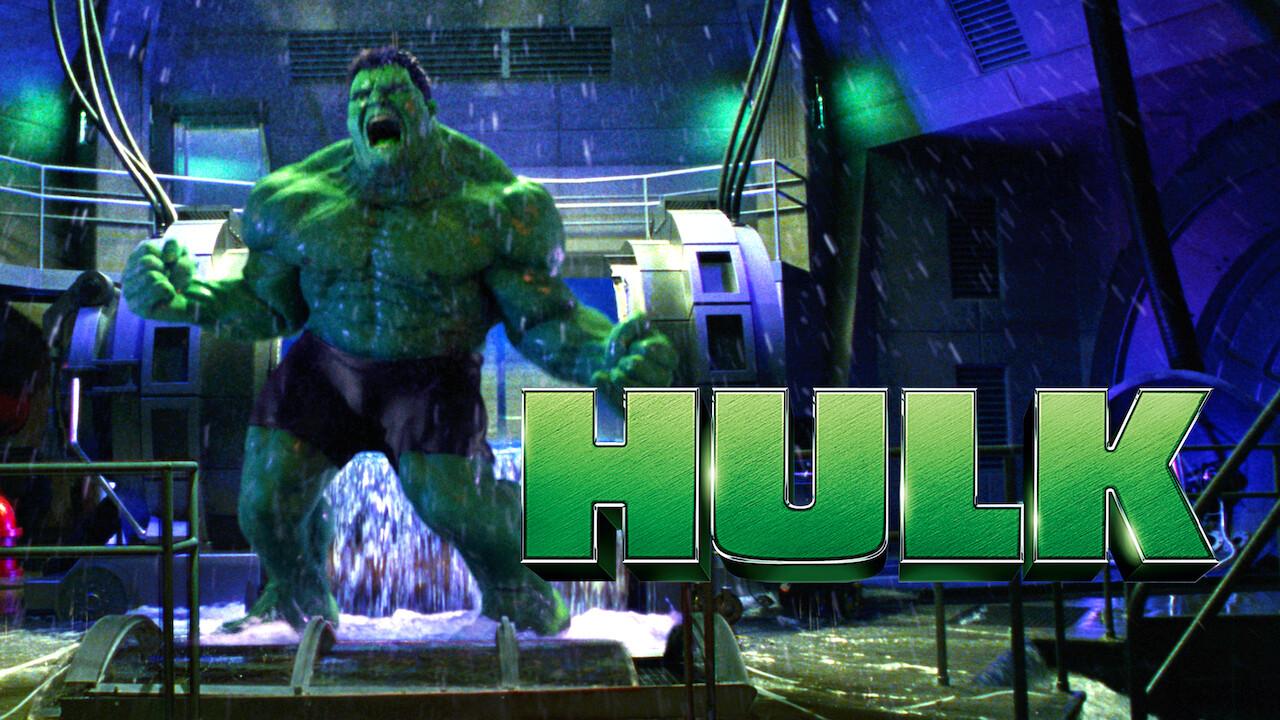 Hulk on Netflix UK