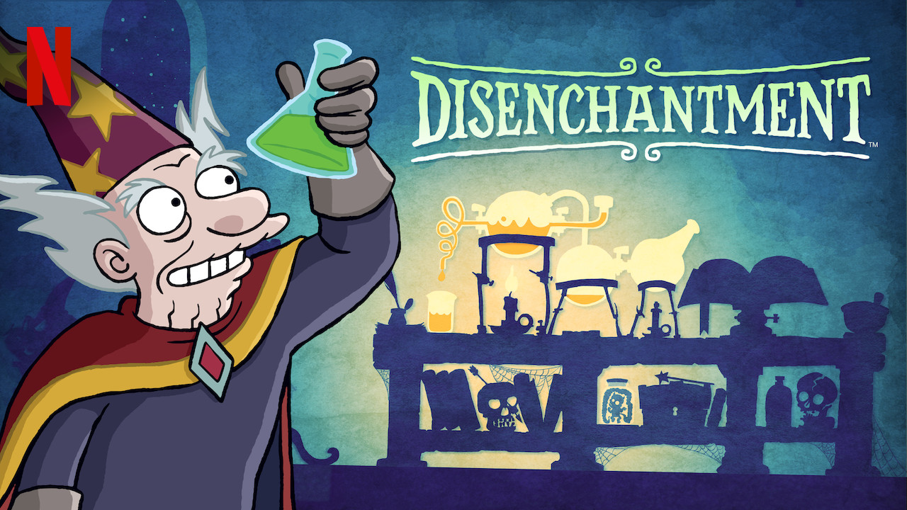 Disenchantment on Netflix UK