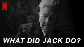 WHAT DID JACK DO? (2020)