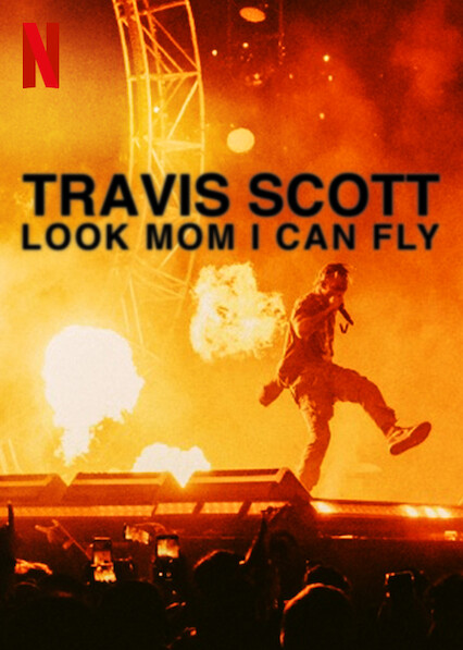 Travis Scott: Look Mom I Can Fly on Netflix UK