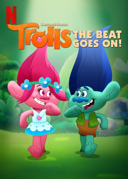 Trolls: The Beat Goes On! on Netflix UK