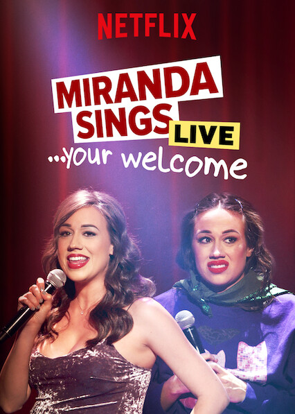 Miranda Sings Live…Your Welcome on Netflix UK