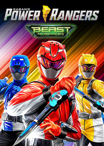 Power Rangers Beast Morphers on Netflix UK