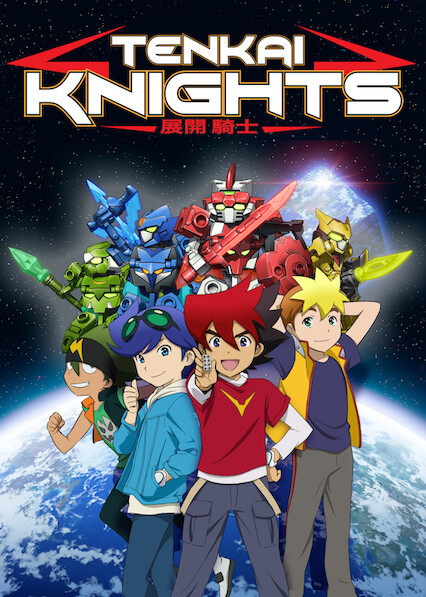 Tenkai Knights on Netflix UK