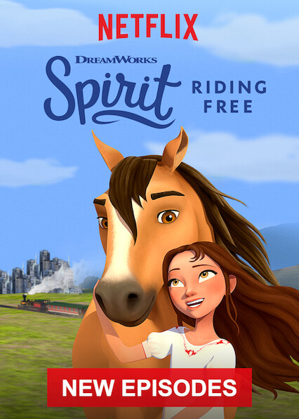 Spirit Riding Free on Netflix UK