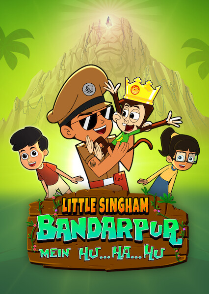 Little Singham Bandarpur Mein Hu Ha Hu