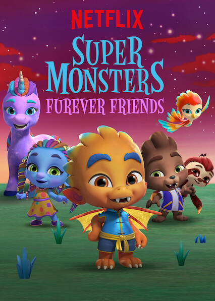Super Monsters Furever Friends on Netflix UK