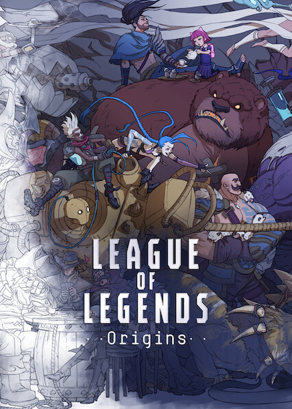 League of Legends Origins on Netflix UK