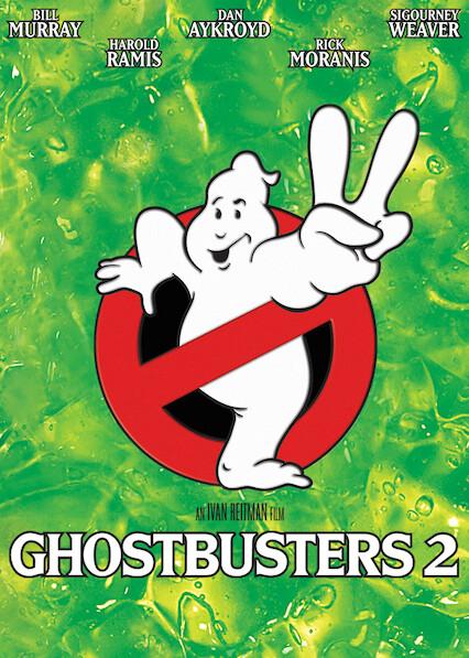 Ghostbusters 2 on Netflix UK