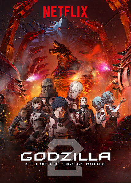 GODZILLA City on the Edge of Battle on Netflix